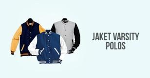 Jaket Varsity Polos