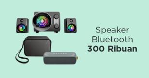 Speaker Bluetooth 300 Ribuan