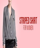 Striped Shirt Wanita