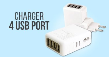 Charger 4 USB Port