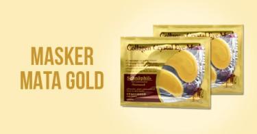Masker Mata Gold