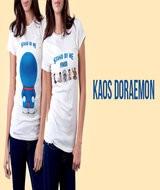 Kaos Doraemon Bandung
