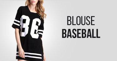 Blouse Baseball Bandung