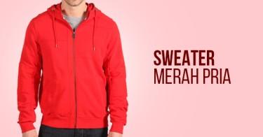 Sweater Merah Pria
