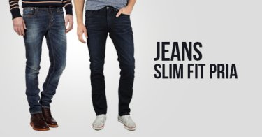 Jeans Slim Fit Pria