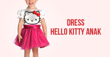 Dress Hello Kitty Anak