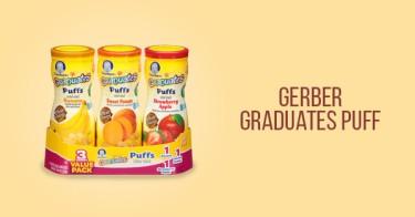Gerber Graduates Puff