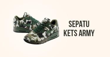 Sepatu Kets Army