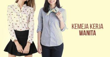 Jual Kemeja Kerja Wanita Modern - Harga Terbaik  7a52bfffab