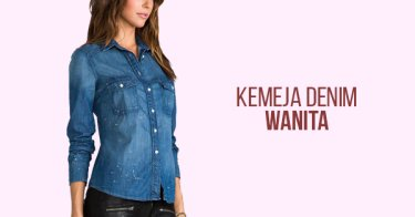 Kemeja Denim Wanita Bandung