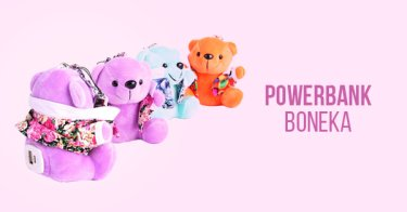 Power Bank Boneka