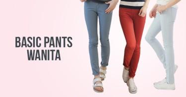 Basic Pants Wanita