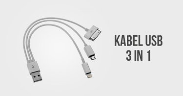 Kabel USB 3 in 1