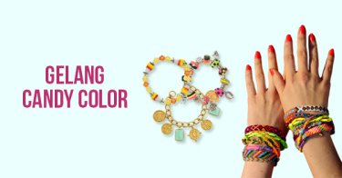 Gelang Candy Color