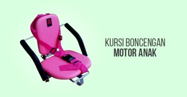 Kursi Boncengan Motor Anak