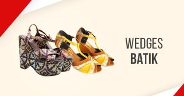 Jual Wedges Batik dengan Harga Terbaik dan Terlengkap