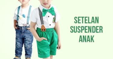 Setelan Suspender Anak