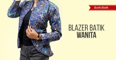 Jual Blazer Batik Wanita Modern - Harga Terbaik  0b9e874d89
