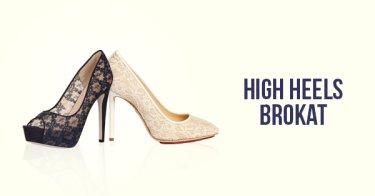 High Heels Brokat