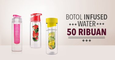 Botol Infused Water 50 Ribuan