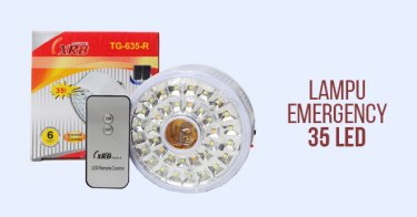 Lampu Emergency 35 LED