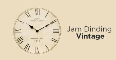 Jam Dinding Vintage Depok