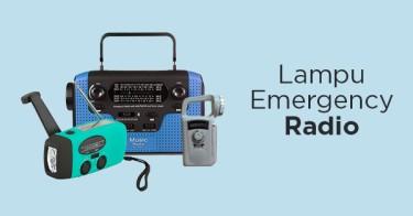 Lampu Emergency Radio