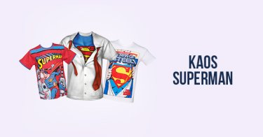 Kaos Superman Jawa Tengah