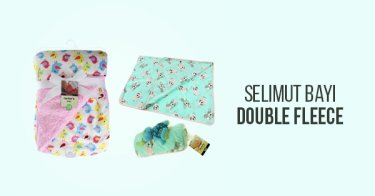 Selimut Bayi Double Fleece
