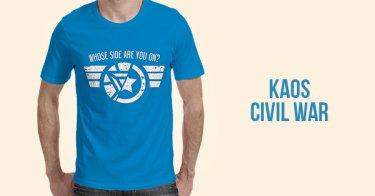 Kaos Civil War Bekasi
