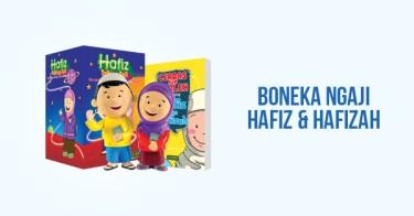 Boneka Ngaji Hafiz & Hafizah