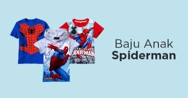 Jual Baju Anak Spiderman | Tokopedia