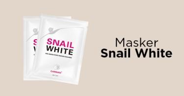 Masker Snail White