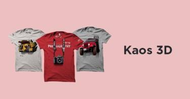 Kaos 3D Bandung