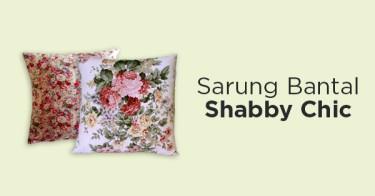 Sarung Bantal Shabby Chic