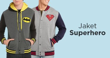 Jaket Superhero