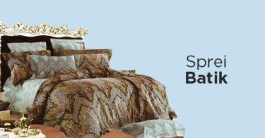 Sprei Batik Sumatera Selatan