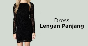 Dress Lengan Panjang