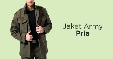 Jaket Army Pria