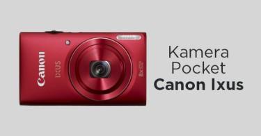 Kamera Pocket Canon Ixus