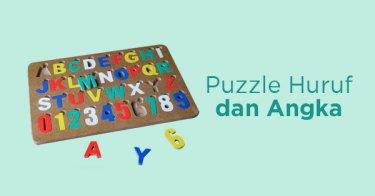 Puzzle Huruf dan Angka