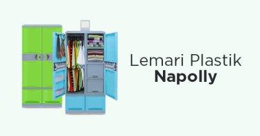 Jual Lemari Plastik Napolly Susun - Harga Murah  17fa124436