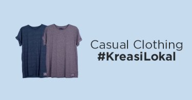 Casual Clothing #KreasiLokal