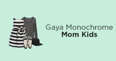 Gaya Monochrome Mom Kids