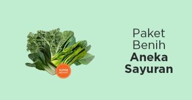 Paket Benih Aneka Sayuran