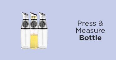 Press & Measure Bottle