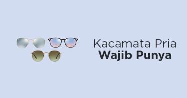 Kacamata Pria Wajib Punya