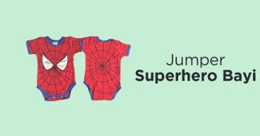 Jumper Superhero Bayi Depok