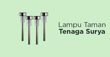 Lampu Taman Tenaga Surya Kabupaten Bogor