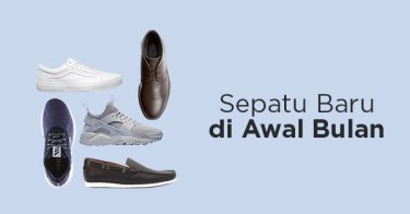 Ragam Pilihan Sepatu Pria